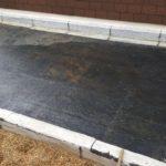 Exemple d'étanchéité terrasse par pose de rouleaux de bitume