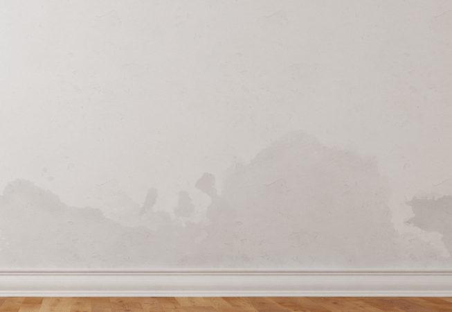 Comment faire partir les taches d'humidité sur les murs ?