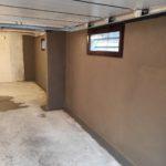 Traitement d'un garage humide grâce au cuvelage par l'entreprise Vivrosec