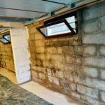 Problème de garage humide avant l'intervention de Vivrosec